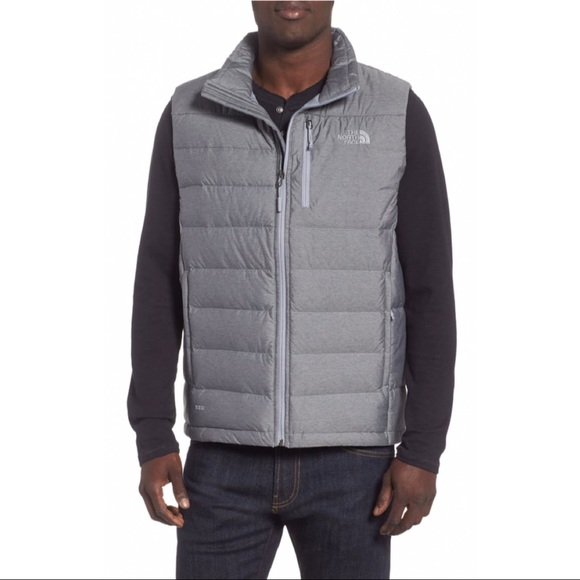 185512058 NWT The North Face Aconcagua Vest, Heather Grey, L NWT